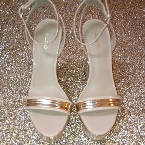 Aldo Wedge platform ankle strap Shoes